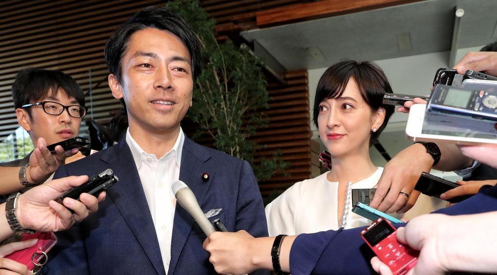 小泉進次郎が滝川クリステルと結婚!二人の馴れ初めや子供は?
